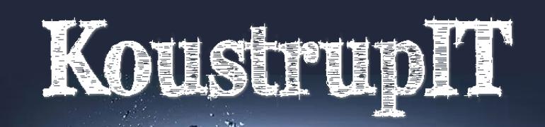 KoustrupIT – Hjemmesider, webshops, systemudvikling