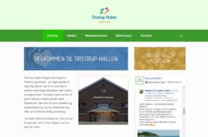 Screenshot of tirstruphallen.dk